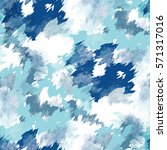 seamless pattern tie dye design.... | Shutterstock . vector #571317016