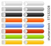 16 blank web 2.0 button...   Shutterstock .eps vector #57132328