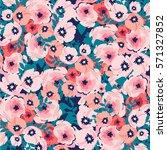 flower pattern | Shutterstock .eps vector #571327852