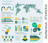 infographics elements... | Shutterstock .eps vector #571342312