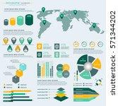 infographics elements... | Shutterstock .eps vector #571344202