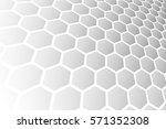 abstract futuristic modern... | Shutterstock .eps vector #571352308