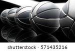 basketball background. 3d