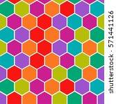 vector modern geometry pattern... | Shutterstock .eps vector #571441126