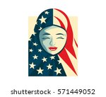 united states of america... | Shutterstock .eps vector #571449052