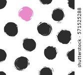abstract seamless vector... | Shutterstock .eps vector #571525288