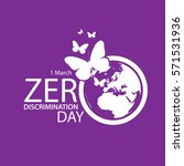 zero discrimination day | Shutterstock .eps vector #571531936
