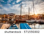 bardolino on garda lake  italy | Shutterstock . vector #571550302