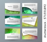 business templates for... | Shutterstock .eps vector #571551892