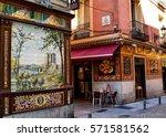 madrid  spain  circa july 2015  ... | Shutterstock . vector #571581562