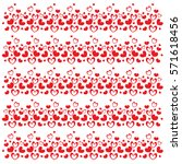 valentine's day. romantic card...   Shutterstock .eps vector #571618456