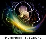 profiles of technology series.... | Shutterstock . vector #571620346