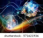 connected minds series. design... | Shutterstock . vector #571621936