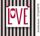 creative vector design layout... | Shutterstock .eps vector #571624978