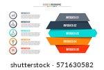 business data visualization.... | Shutterstock .eps vector #571630582