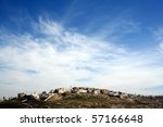 Wadi Mujib in Jordan - stock photo