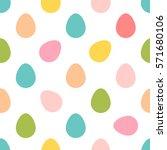 easter pattern background   Shutterstock .eps vector #571680106