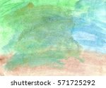 green  brown and blue... | Shutterstock . vector #571725292