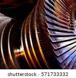 power generator turbine | Shutterstock . vector #571733332