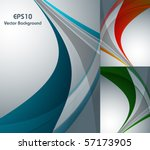 abstract vector background in... | Shutterstock .eps vector #57173905