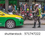 editorial use only  a traffic... | Shutterstock . vector #571747222