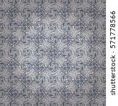 fancy seamless pattern in... | Shutterstock .eps vector #571778566