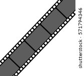film strip vector illustration | Shutterstock .eps vector #571794346