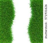 abstract nature grass frame... | Shutterstock . vector #571931626