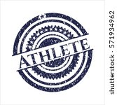 Blue Athlete Distressed With...