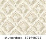 knitted seamless patterns.... | Shutterstock .eps vector #571948738