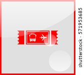 ticket icon.   Shutterstock .eps vector #571953685
