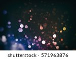 pattern made of bright bokeh | Shutterstock . vector #571963876
