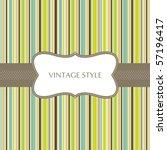 template frame design for... | Shutterstock .eps vector #57196417