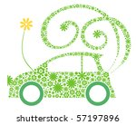 eco friendly car | Shutterstock .eps vector #57197896