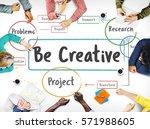inspiration creative ideas...   Shutterstock . vector #571988605