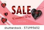 sale discount banner for... | Shutterstock .eps vector #571995652