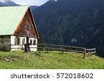 Small photo of Old alp in the allgäu Alps