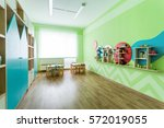 softgreen game room in the... | Shutterstock . vector #572019055