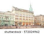 st.petersburg  russia   7 march ...   Shutterstock . vector #572024962
