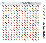 vector collection of all world... | Shutterstock .eps vector #572028472