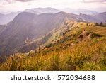 mountain view of phu chi fa at... | Shutterstock . vector #572034688