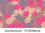 seamless pattern. the chaos of... | Shutterstock .eps vector #572048626
