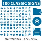 100 Professional Classic Signs...