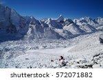 view from kala pathar   kala... | Shutterstock . vector #572071882