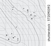 topographic map background... | Shutterstock .eps vector #572090392