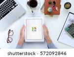 chiangmai  thailand  feb 05... | Shutterstock . vector #572092846