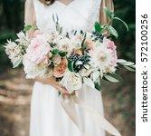 Beauty Wedding Bouquet In Brid...