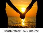 perfect scene for valentines... | Shutterstock . vector #572106292