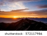 Rising Sun From The Summit Of...