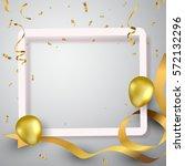 Gold Balloons  Celebration...